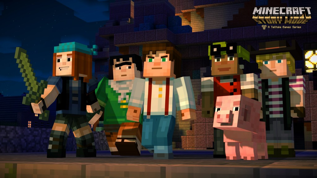 minecraft story mode jesse telltale trailer